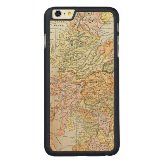 MAP: SCOTLAND CARVED MAPLE iPhone 6 PLUS CASE
