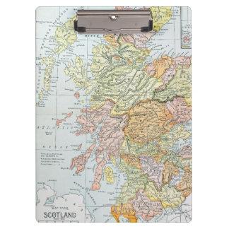 MAP: SCOTLAND CLIPBOARD