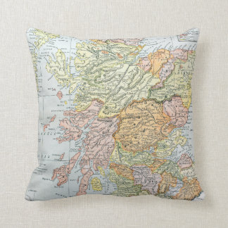 MAP: SCOTLAND CUSHION