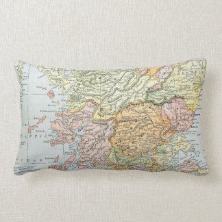 MAP: SCOTLAND LUMBAR CUSHION