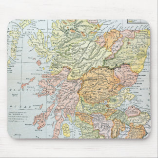 MAP: SCOTLAND MOUSE MAT