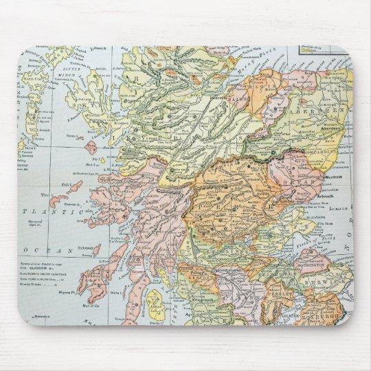 MAP: SCOTLAND MOUSE MAT
