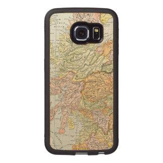 MAP: SCOTLAND WOOD PHONE CASE