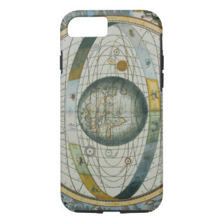 Map Showing Tycho Brahe's System of Planetary Orbi iPhone 8/7 Case