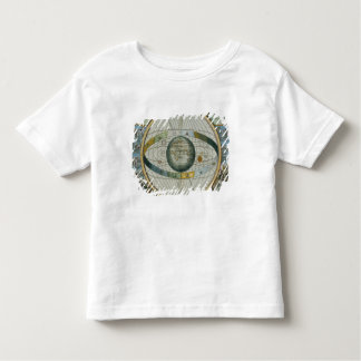 Map Showing Tycho Brahe's System of Planetary Orbi Toddler T-Shirt