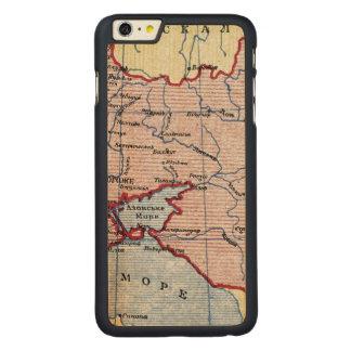 MAP: UKRAINE, c1906 Carved® Maple iPhone 6 Plus Case