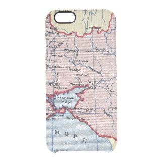 MAP: UKRAINE, c1906 Clear iPhone 6/6S Case