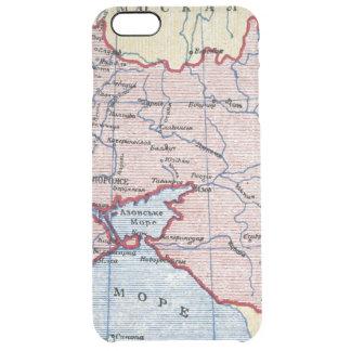 MAP: UKRAINE, c1906 Clear iPhone 6 Plus Case