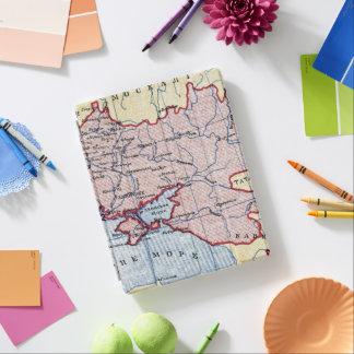 MAP: UKRAINE, c1906 iPad Cover