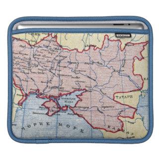 MAP: UKRAINE, c1906 iPad Sleeves