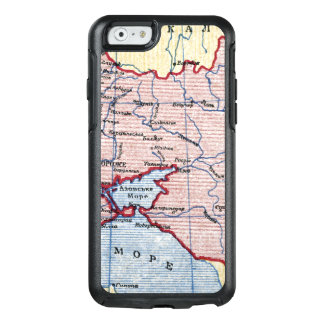 MAP: UKRAINE, c1906 OtterBox iPhone 6/6s Case