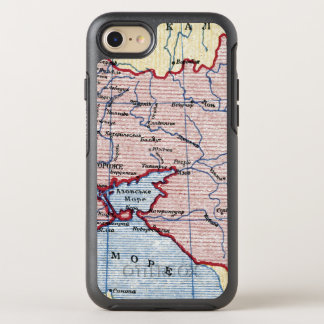 MAP: UKRAINE, c1906 OtterBox Symmetry iPhone 8/7 Case