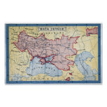 MAP: UKRAINE, c1906 Poster