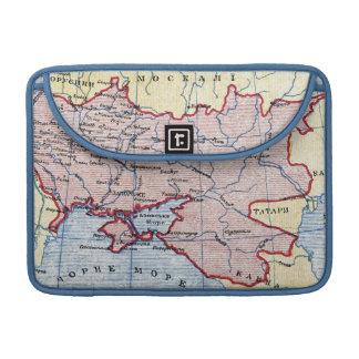 MAP: UKRAINE, c1906 Sleeve For MacBook Pro