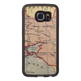 MAP: UKRAINE, c1906 Wood Phone Case