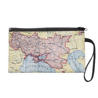MAP: UKRAINE, c1906 Wristlet