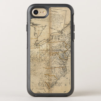 MAP: USA, 1783 OtterBox SYMMETRY iPhone 8/7 CASE