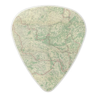 Map Western Front Acetal Guitar Pick