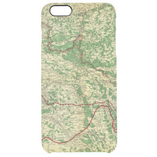 Map Western Front Clear iPhone 6 Plus Case