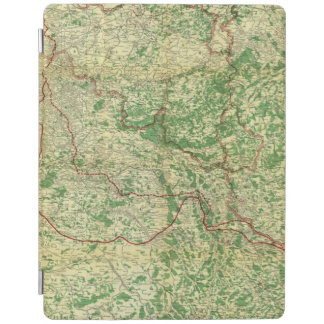 Map Western Front iPad Cover