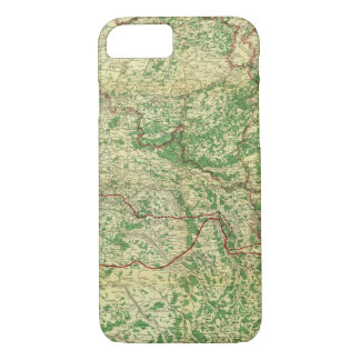 Map Western Front iPhone 8/7 Case