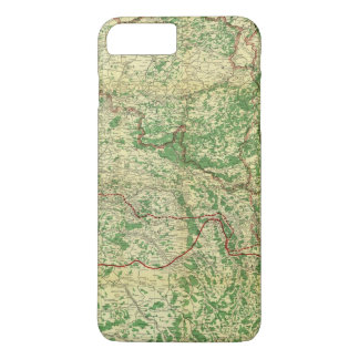 Map Western Front iPhone 8 Plus/7 Plus Case