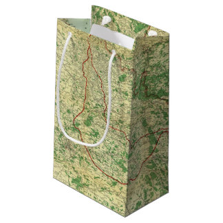 Map Western Front Small Gift Bag