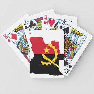 Mapa Angola Baralho De Poker