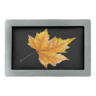 Maple Autumn Leaf Belt Buckle