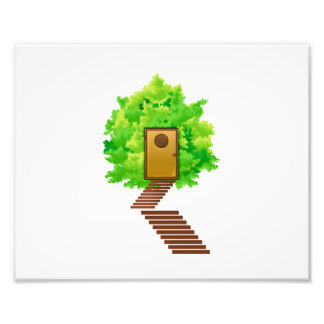 maple bush door stairs ecology image.png art photo