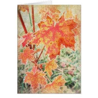 Maple Fall Card
