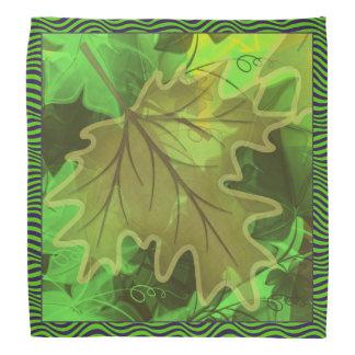 Maple Leaf bandana