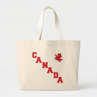 Maple Leaf Canada Canvas Bags