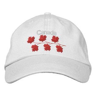 Maple Leaf Canada Embroidered Cap
