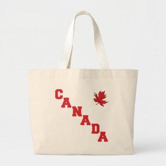 Maple Leaf Canada Large Tote Bag