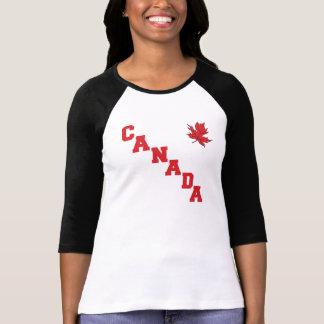 Maple Leaf Canada Women's T Shirt