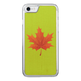 Maple Leaf Carved iPhone 8/7 Case