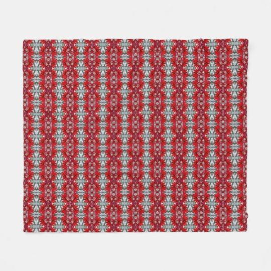Maple Leaf Fleece Blanket