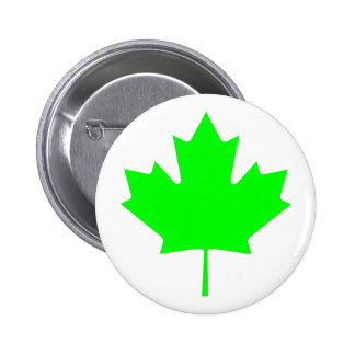 Maple Leaf Green LtTransp The MUSEUM Zazzle Gifts 6 Cm Round Badge