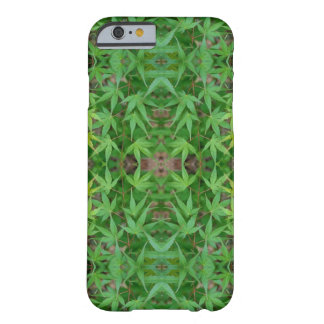Maple Leaf Greenery Barely There iPhone 6 Case