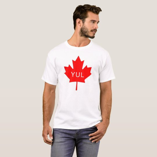 Maple Leaf - Montreal Airport Code T-Shirt