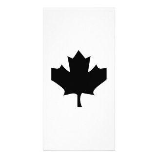 Maple Leaf Personalized Photo Card
