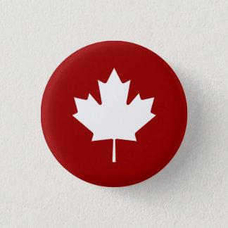 'Maple Leaf' Pictogram Button