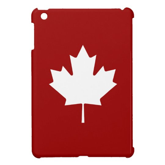 Maple Leaf Pictogram iPad Mini Case