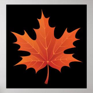 Maple Leaf Print