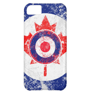 Maple Leaf Roundel Graphic iPhone 5C Case