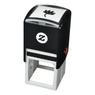 Maple Leaf Self-inking Stamp