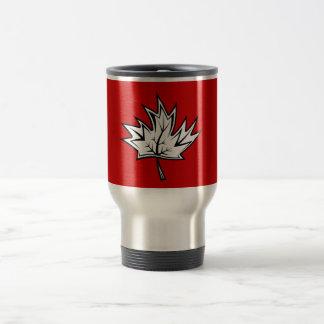 Maple-Leaf Stainless Steel Travel Mug