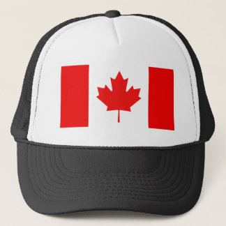 Maple Leaf Symbol Trucker Hat