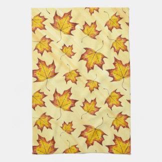 Maple Leaf Tea Towel